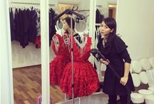 SteaMaster and fashion designer / Polish fashion designer with SteaMaster