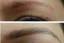 Tattoo eyebrows