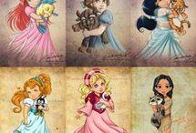 Disney character doll
