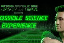 Impossible Science / The Reuben H. Fleet Science Center and Jason Latimer (World Champion of Magic and judge on Syfy's Wizard Wars)   come together for the Impossible Science Experience,  combining illusion and science to create effects that no one thought could ever exist.