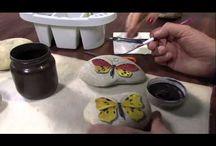 TUTORIAL kameny / jak malovat na kameny