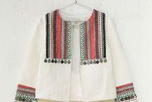 chaquetas étnicas