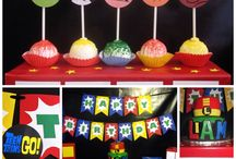 Teen titans party decorations / Teen titan party ideas