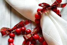 Argolas guardanapo natal