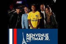 Neymar Jr , Neymar Sr , Nadine Goncalves , Rafaella i Jo Amancio