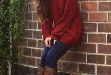 autumn / autumn means snuggling in cosy sweaters, boots and long knee socks it's just so fun!