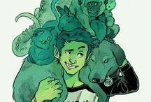 DC comics(Teen Titans and Batman's Family)