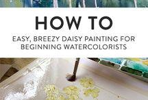 Watercolor inspo
