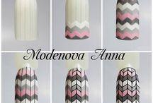 Nails | knitted nails