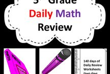 5th Grade Daily Math Review: 140 Day Bundle / 5th Grade Daily Math Review. Struggling to build mastery with critical mathematics concepts like fractions, decimals, and problem solving? There are so many math standards in fifth grade that it can be difficult to cover them all and support regular review during the class time available. Provide your fifth grade students/child with 10 to 15 minutes of daily math practice with this resource.