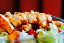 Low Carb: Salat soweit das Auge reicht