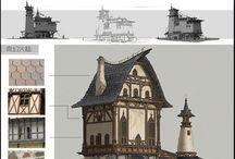 Byggnader och miljöer