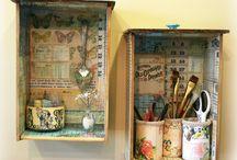 gavetas reciclar / by Sandra Simplicio