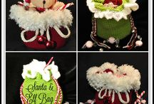 Crochet Christmas / Christmas Crochet patterns to add a festive touch to your life. Most are free!