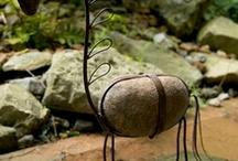 Mini esculturas & piedras