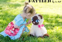 KITTY ~ CAT ~ Patterns  / Patterns designed by Ira Rott / by IraRott Inc.