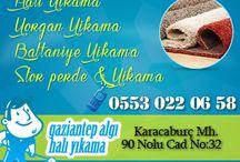 Gaziantep Halı Yıkama / Gaziantep'te  bulunan ev temizliği ve Halı YIkama Firması
