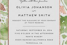 Art: Invitations / art & illustrations on lovely invitation cards