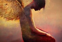 Angel / They are waiting to catch us should we ever fall.