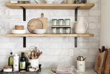Open Shelf Styling
