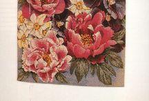 FLOWERS (1) cross stitch