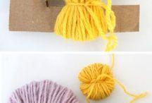 Tejidos en lana.