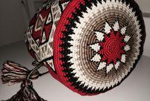Crochet Mochilla Bags
