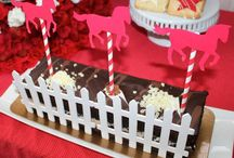 Party Theme: Horse Track 40th birthday / horse track race party ideas for a 40th birthday party