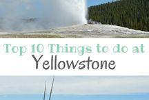 Yellowstone / Grand Teton / Yellowstone National Park and Grand Teton National Park in Wyoming