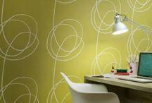 Accent wall * Wallpaper
