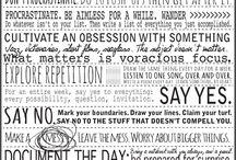 Words / by Deanna Rankin