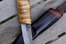 Puukot - veitset - knives