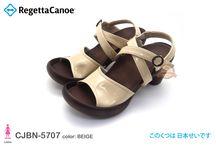 RegettaCanoe CJBN5707 / Banana Shoes Style, 3 inches high