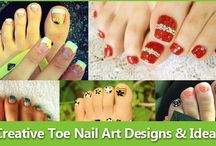 cute toe nail art / cute toe nail art designs and ideas collection