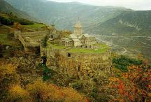 Armenian Landscape / Armenia is full of picturesque sciences of nature. Here you can find different landscape types.