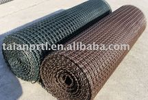 Gutter Netting / Gutter netting comes with each roll paper-wrapped, and then encased in individual polypropylene bags