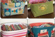 šití - krabice