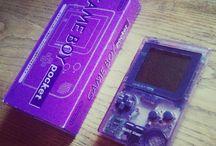 Game Boy Pocket Clear Purple