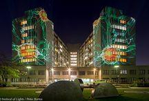 Vivantes Klinikum / Vivantes Clinic @ Berlin FESTIVAL OF LIGHTS