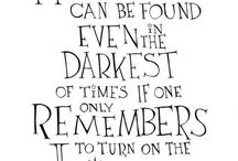 Dumbledore's quotes