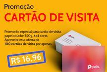 Cartão de visita / Precisando imprimir cartão de visita para você ou seus clientes? Conheça a melhor gráfica online do Brasil, acesse: www.papira.com.br