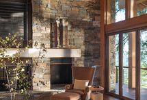 Fireplace walls