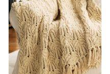lacy afghan
