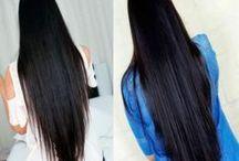 crescimento de cabelos