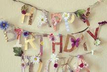 Birthday Party- Hippie Themed