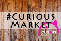 CURIOUSMARKET / Dia 21 de març ens podeu trobar el Hotel Curious de Barcelona