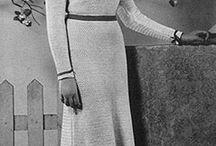 vintage / knitting & crochet
