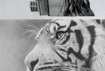 cool drawings / by Kristian Harris