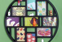Hanging photos/frames / by Barbara Monroe