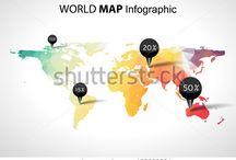 Global Maps / Inspiration für die Karten